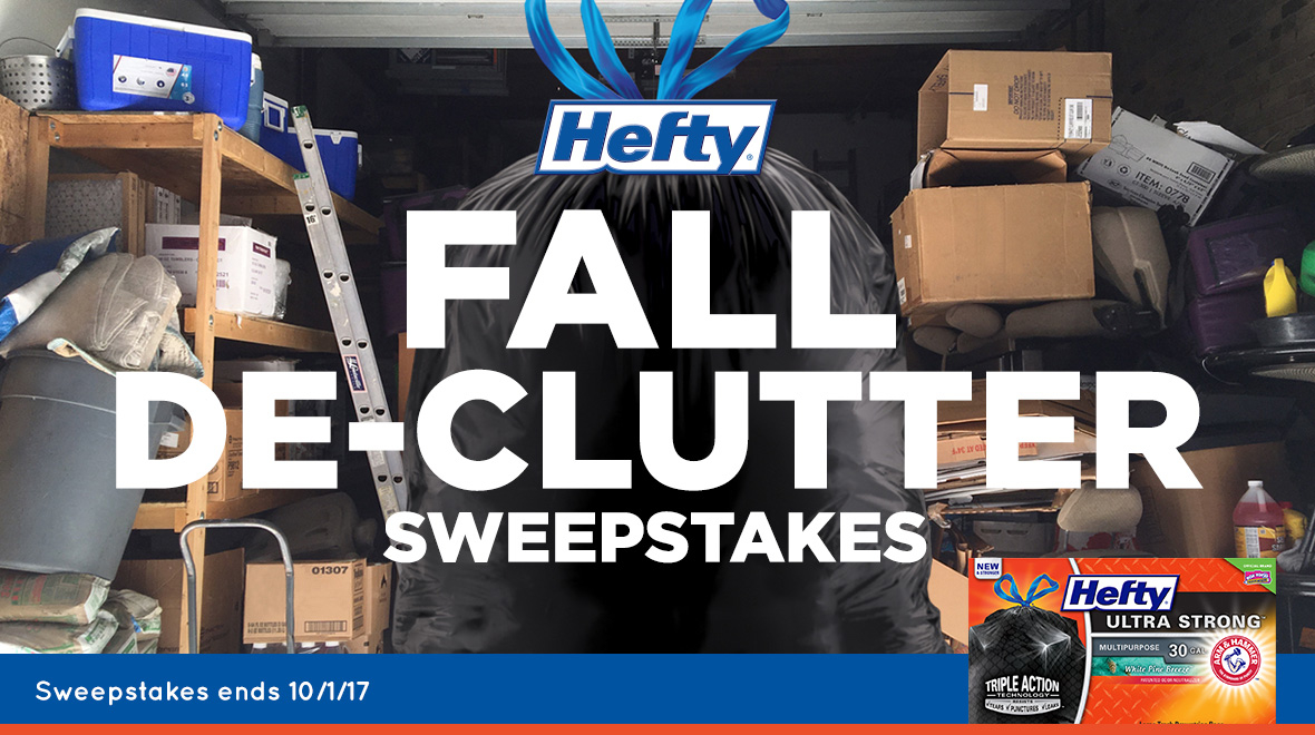 Hefty Fall De-Clutter Sweepstakes